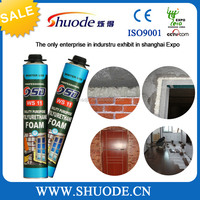 Manufacturer of super strong gap filler spray pu foam polyurethane adhesive