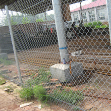 Hot dip galvanized steel used chain link fence netting for sale
