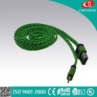 High quality OEM and ODM usb charger cable to dc 3.5 mm jack