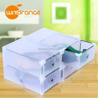 New Design Witorange Metal Edge Transparent Box Storage Box