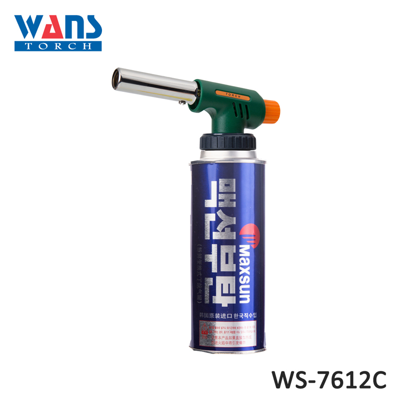 Mini custom plastic WS-7612C jet flame welding blow torch lighter