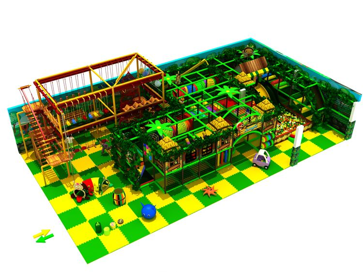 High end different types gold china supplier indoor playground theme park games