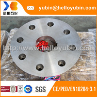 High quality customized stainless steel forged bland flange