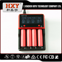 intelligent lcd li-ion battery charger Multifunctional LCD battery charger