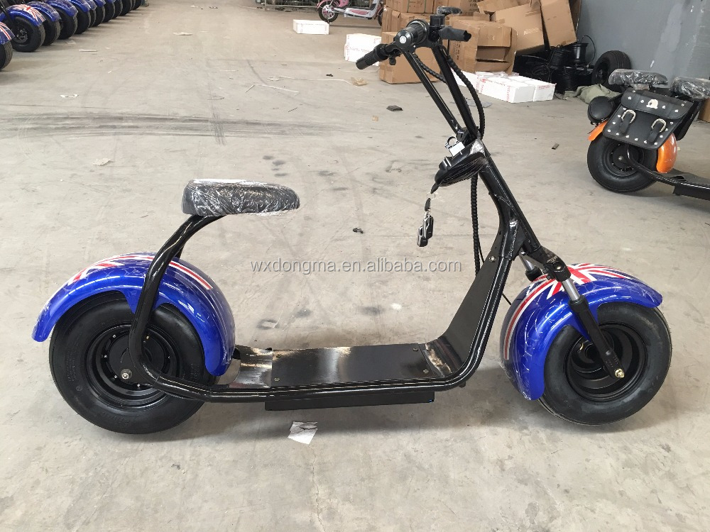 2016 trending hot products Promotion Harley scrooser 2 Wheels Electric Motorcycle, citycoco style scooter city