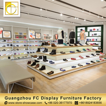 China supply best quality retail custom made interior design shoes shop display shoe store display racks