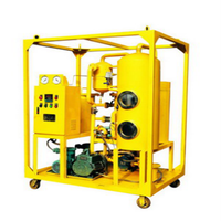Vacuum Double-Stage Used Transformer Oil Filter Machine