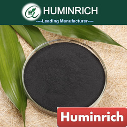 Huminrich Rich In Humified Organic Matter 95% Solubility Potassium Humate Soil Amendments