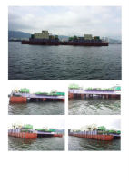 used immersion pontoon ship