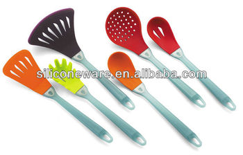 AS Handle Silicone kitchen tools, Kitchen Utensils, colorful silicone kitchen tools sets