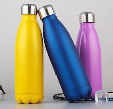 500ml Double Wall Stainless Steel Vacuum Sport Water Bottle of No.304