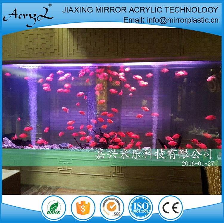 2016 hot sale aquarium acrylic fish tank big