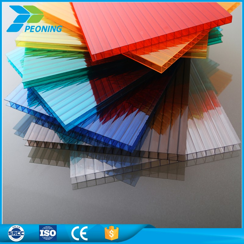 6mm stable polycarbonate hollow sheet for greenhouse