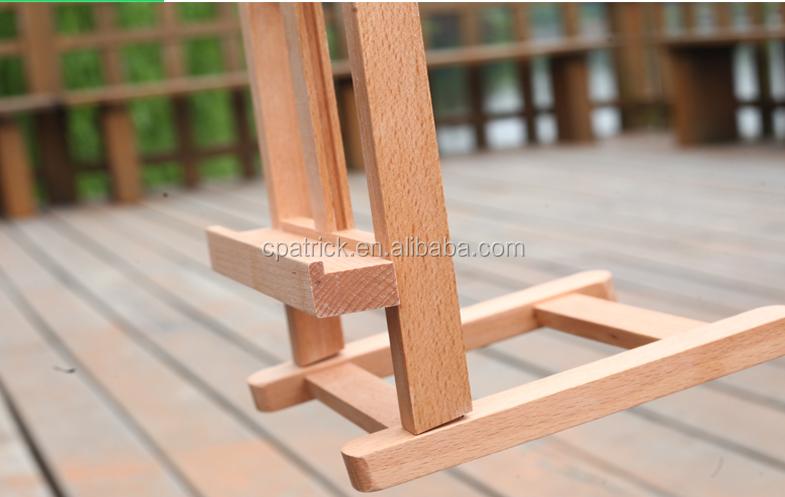 Los ni os de madera de haya port til mesa plegable peque a mesa de dibujo caballete para la - Mesa plegable pequena ...