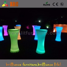 Shenzhen promotion furniture 16 colors change make up table with lights GF311