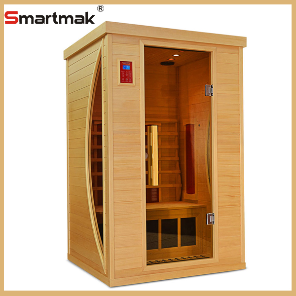 2016 hot sale steam shower room,protab fir infrared sauna box,wood sauna box with factory price