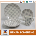 transfer printing 16pcs restaurant tableware