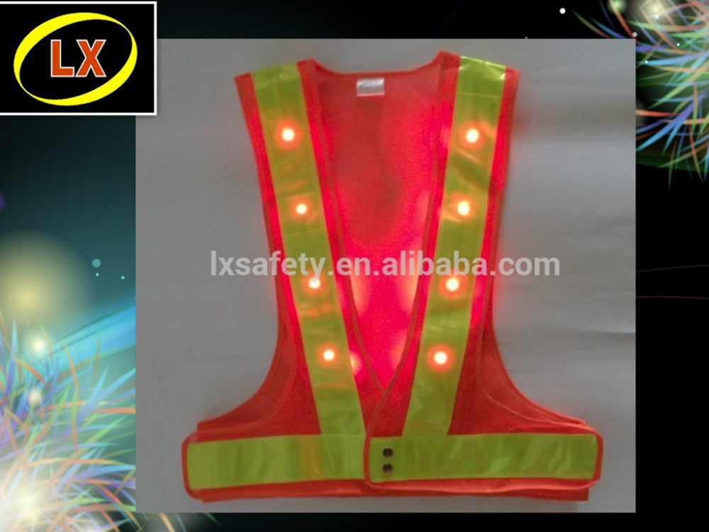 High Visibility Security Led Reflective Safety Clothing
