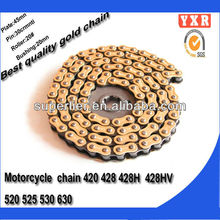 hot sale timing chain motorcycle,chain sprocket motocross chain,transmission kit chain reaction motorcycles