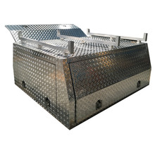 Aluminum Ute Canopy Tool Box Ute Canopy with Three Lids OEM/ODM