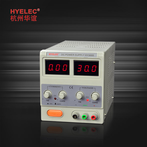 HY3005 LINEAR MODE regulated DC Power Supply HY3000 series DC Power Supply