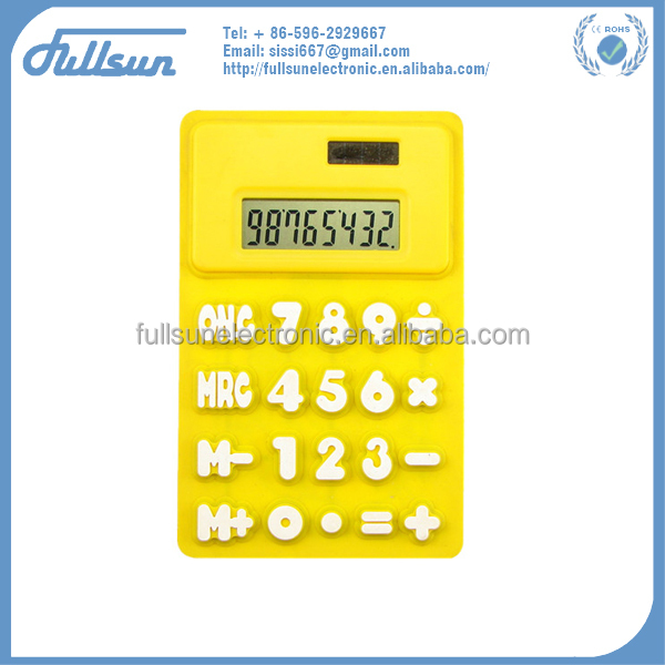 fold calculator with rubber FS-1116B