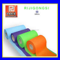 Nonwoven fabric 100% pp raw materials used in textile industry