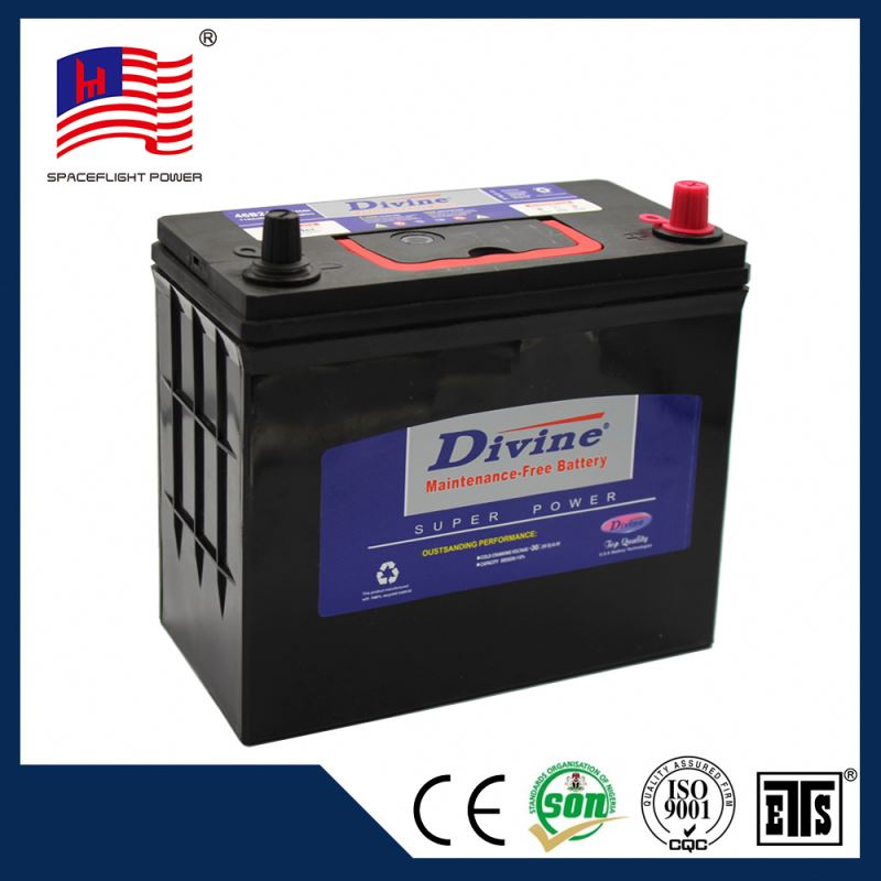 46B24 jis style automobile small car batteries battery