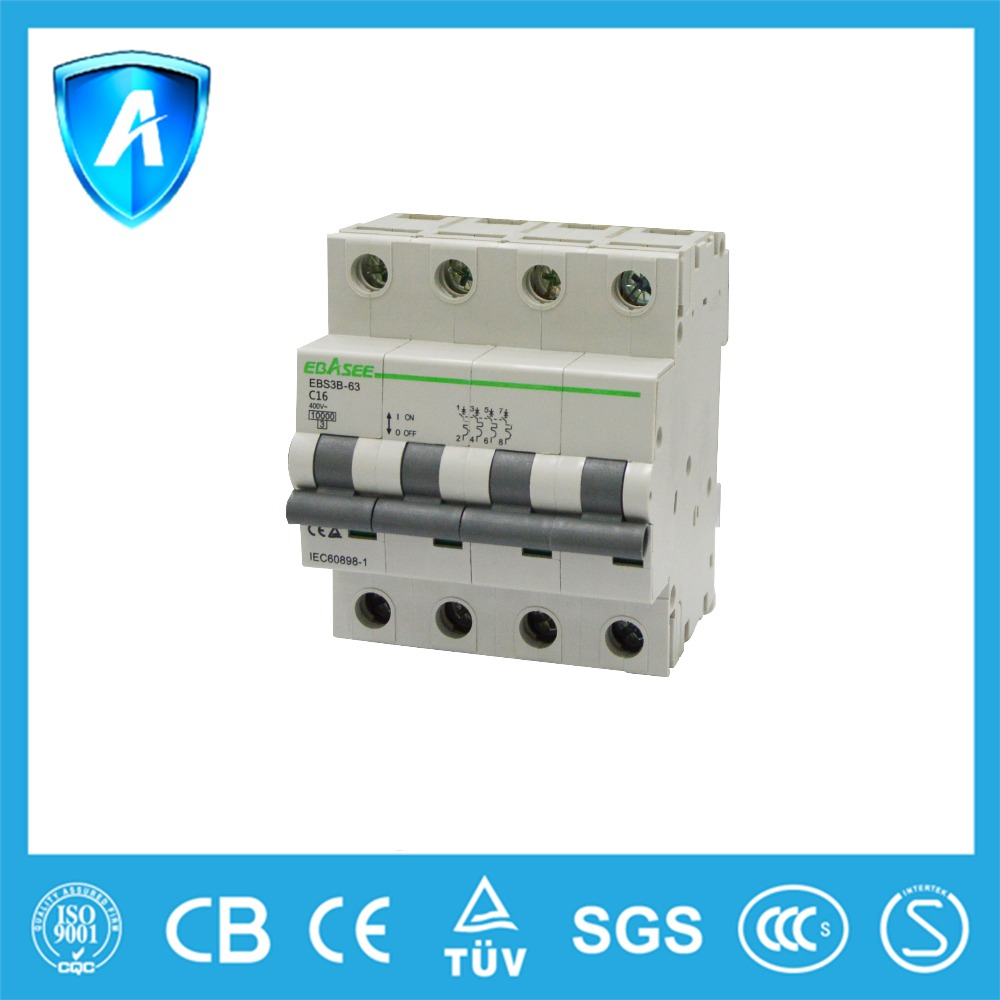 High quality dz47-63 types 20 amp miniature circuit breaker mcb