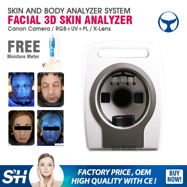 2016 Beijing medical grade 3d analysis beauty machine face analyser