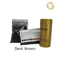 hair growth fibers dark brown refill hair fiber bag Hair Regrowth fibers