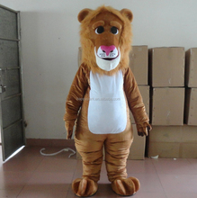 Factory direct sale accept Paypal and Trade Assurance custom adult lion head costume king lion mascot costume