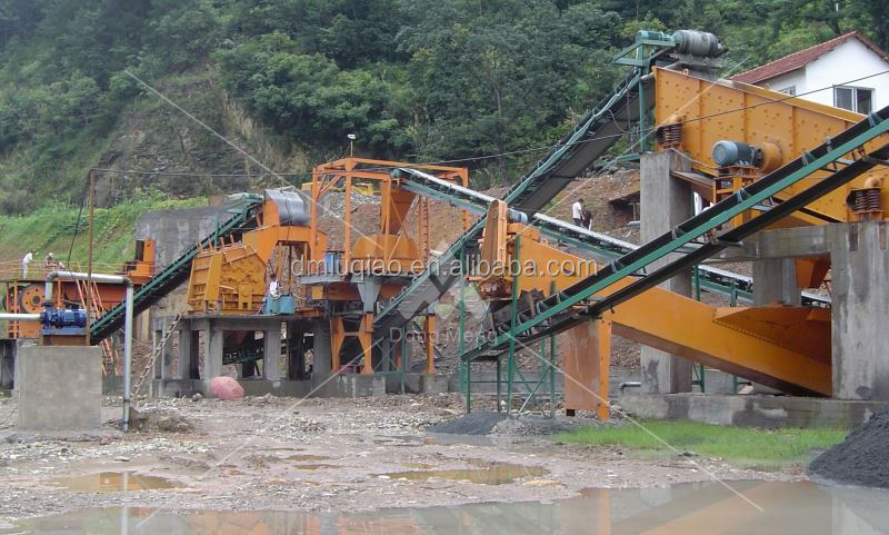 Shanghai DongMeng ballast stone crusher plant for sale