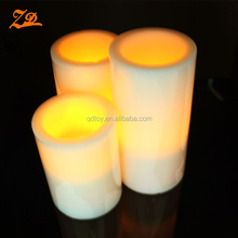 Wholesale LED Flameless Rechargeable Tea Light Candles with remote control