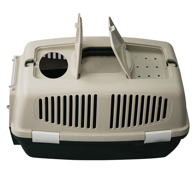 wholesale double outdoor plastic dog carriers