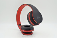 Foldable wireless stereo bluetooth headphone, Bluetooth V3.0 + EDR Headset with 40mm Drive Unit Speaker
