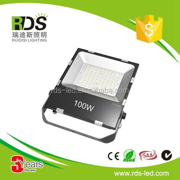 High Power solar 11000lm construction site led flood light