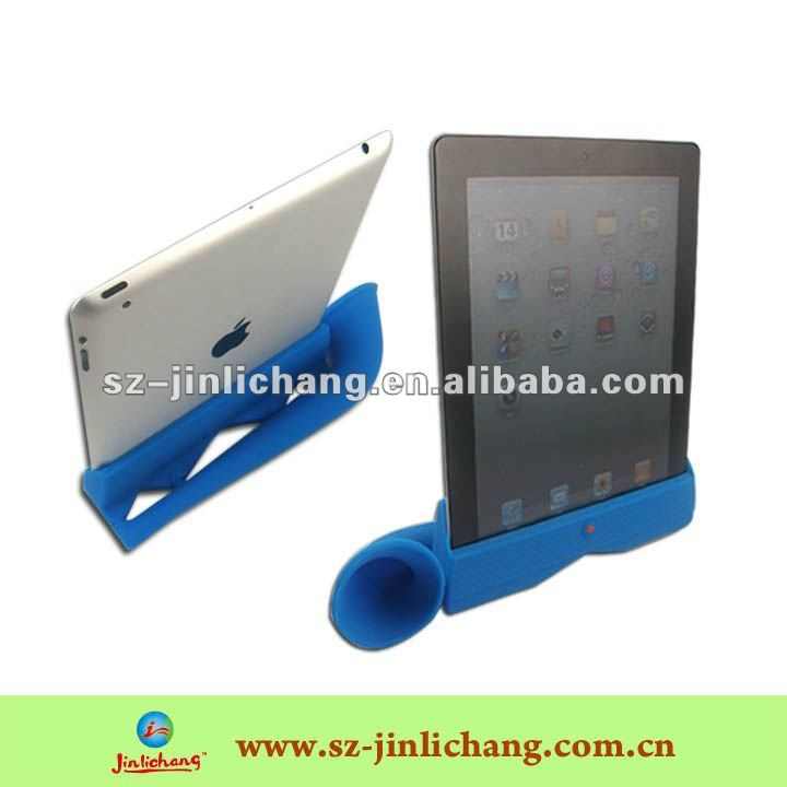 silicone stand amplifier for ipad 2