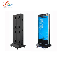 RGX P4 outdoor advertising Player led display/standing poster led display screen for mall or airport