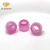 Pink cubic zirconia faceted barrel shaped healing rondelle gemstone bead