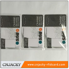 Plastic Blank / CMYK Printing ISO 15693 RFID Card 13.56mhz NFC PVC/PET Cards