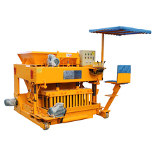 Cost mobile stabilized press concrete block bricks machine for sale south africa