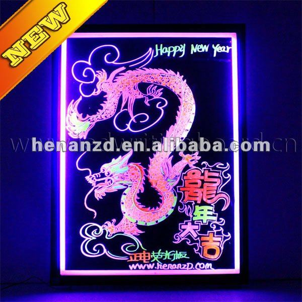 2012 New Products Led Board With Dragon