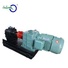 Simple structure hydraulic pump asphalt/oil/butimen transfer external gear pump