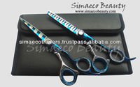 Professional barber Hair Cutting Thinning Scissors Zebra designs Stylist Hair Cutting Scissors