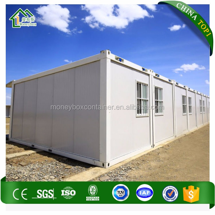 Waterproof Fire Anti-Corrosion Portable 20Ft Shipping Container Home