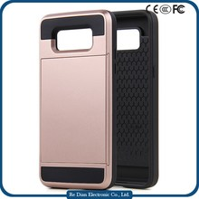 Super Protective Anticollision TPU and PC Mobile Phone Cover Case for Samsung G530