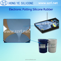 Electronic potting silicone rubber for ignitor