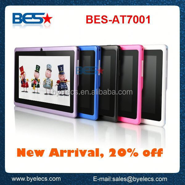 Cheapest Multi Touch with wifi 7 inch dual core android wireless writing tablet