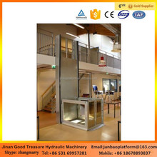Small elevator for homes wheelchair lifts for disabled